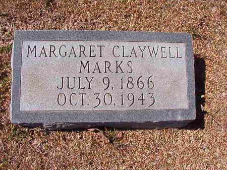 CLAYWELL MARKS, MARGARET - Dallas County, Arkansas | MARGARET CLAYWELL MARKS - Arkansas Gravestone Photos