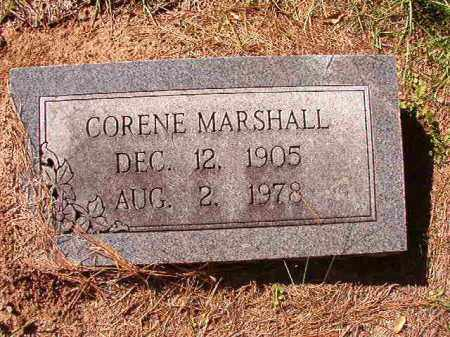 MARSHALL, CORENE - Dallas County, Arkansas | CORENE MARSHALL - Arkansas Gravestone Photos