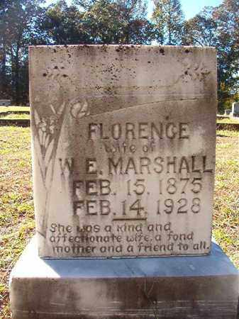 MARSHALL, FLORENCE - Dallas County, Arkansas | FLORENCE MARSHALL - Arkansas Gravestone Photos