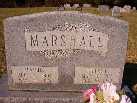 MARSHALL, LILLIE B - Dallas County, Arkansas | LILLIE B MARSHALL - Arkansas Gravestone Photos