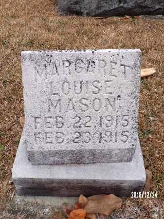 MASON, MARGARET LOUISE - Dallas County, Arkansas | MARGARET LOUISE MASON - Arkansas Gravestone Photos