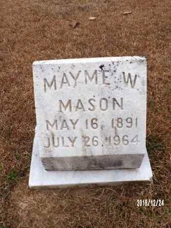 MASON, MAYME W - Dallas County, Arkansas | MAYME W MASON - Arkansas Gravestone Photos