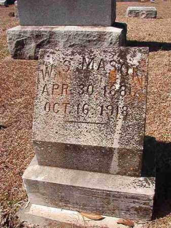 MASON, W S - Dallas County, Arkansas | W S MASON - Arkansas Gravestone Photos