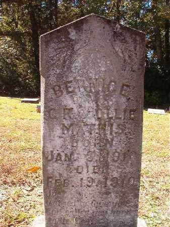 MATHIS, BERNICE - Dallas County, Arkansas | BERNICE MATHIS - Arkansas Gravestone Photos