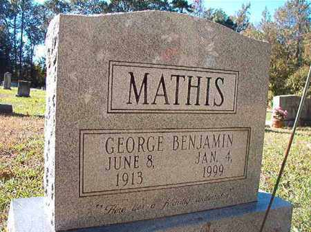 MATHIS, GEORGE BENJAMIN - Dallas County, Arkansas | GEORGE BENJAMIN MATHIS - Arkansas Gravestone Photos