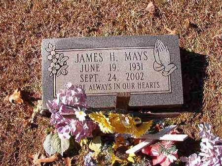 MAYS, JAMES H - Dallas County, Arkansas | JAMES H MAYS - Arkansas Gravestone Photos