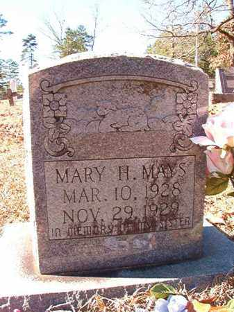 MAYS, MARY H - Dallas County, Arkansas | MARY H MAYS - Arkansas Gravestone Photos