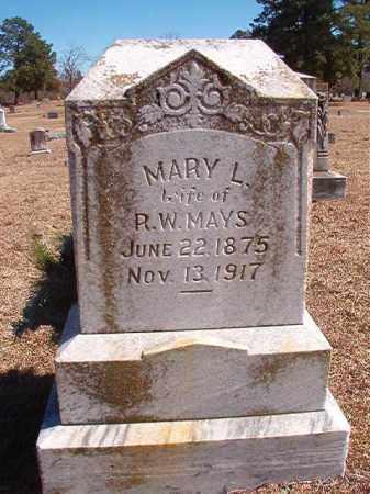 MAYS, MARY L - Dallas County, Arkansas | MARY L MAYS - Arkansas Gravestone Photos