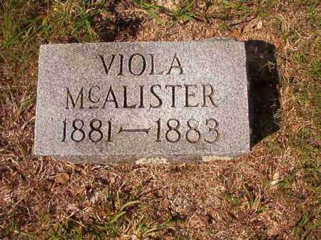 MCALISTER, VIOLA - Dallas County, Arkansas | VIOLA MCALISTER - Arkansas Gravestone Photos