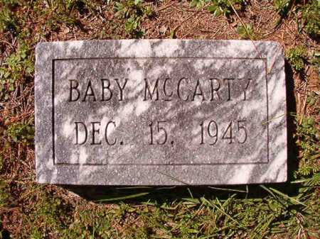 MCCARTY, BABY - Dallas County, Arkansas | BABY MCCARTY - Arkansas Gravestone Photos