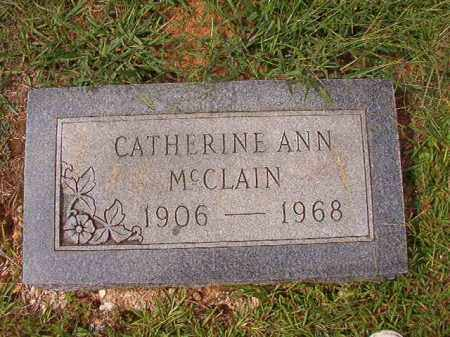 MCCLAIN, CATHERINE ANN - Dallas County, Arkansas | CATHERINE ANN MCCLAIN - Arkansas Gravestone Photos