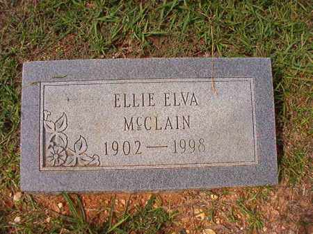 MCCLAIN, ELLIE ELVA - Dallas County, Arkansas | ELLIE ELVA MCCLAIN - Arkansas Gravestone Photos