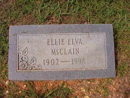 MCCLAIN, ELLIE ELVA - Dallas County, Arkansas | ELLIE ELVA MCCLAIN - Arkansas Gravestone Photos
