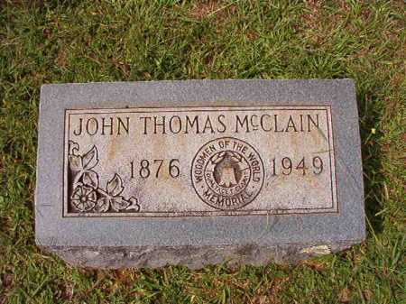 MCCLAIN, JOHN THOMAS - Dallas County, Arkansas | JOHN THOMAS MCCLAIN - Arkansas Gravestone Photos