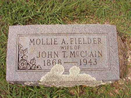 FIELDER MCCLAIN, MOLLIE A - Dallas County, Arkansas | MOLLIE A FIELDER MCCLAIN - Arkansas Gravestone Photos