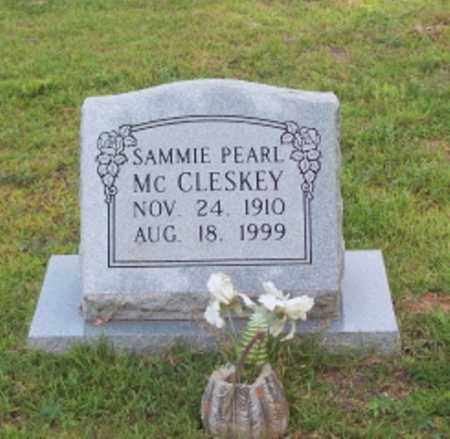 MCCLESKEY, SAMMIE PEARL - Dallas County, Arkansas | SAMMIE PEARL MCCLESKEY - Arkansas Gravestone Photos