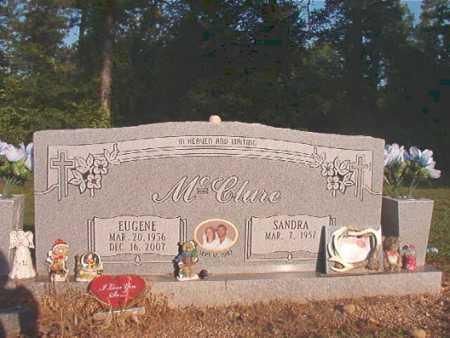 MCCLURE, EUGENE - Dallas County, Arkansas | EUGENE MCCLURE - Arkansas Gravestone Photos