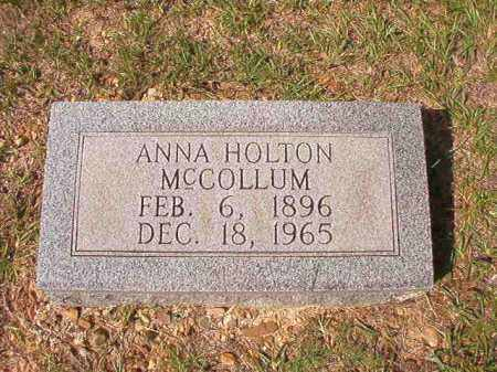 MCCOLLUM, ANNA - Dallas County, Arkansas | ANNA MCCOLLUM - Arkansas Gravestone Photos