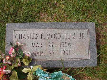 MCCOLLUM, JR, CHARLES E - Dallas County, Arkansas | CHARLES E MCCOLLUM, JR - Arkansas Gravestone Photos