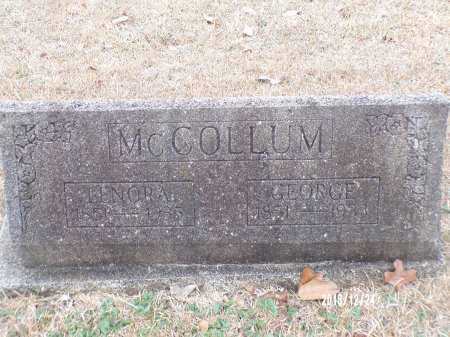 MCCOLLUM, GEORGE - Dallas County, Arkansas | GEORGE MCCOLLUM - Arkansas Gravestone Photos