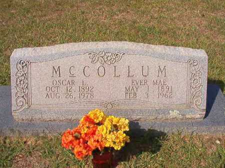 MCCOLLUM, EVER MAE - Dallas County, Arkansas | EVER MAE MCCOLLUM - Arkansas Gravestone Photos