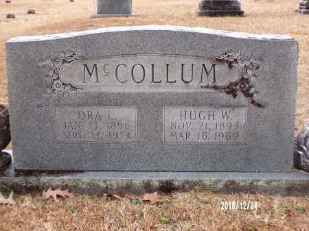 MCCOLLUM, HUGH W - Dallas County, Arkansas | HUGH W MCCOLLUM - Arkansas Gravestone Photos