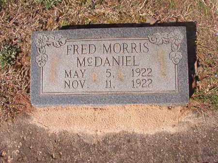 MCDANIEL, FRED MORRIS - Dallas County, Arkansas | FRED MORRIS MCDANIEL - Arkansas Gravestone Photos