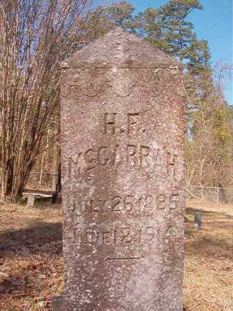 MCGARRAH, H F - Dallas County, Arkansas | H F MCGARRAH - Arkansas Gravestone Photos