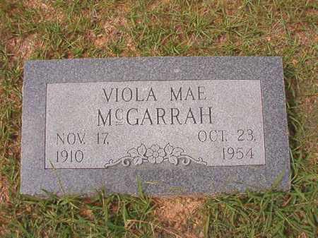 MCGARRAH, VIOLA MAE - Dallas County, Arkansas | VIOLA MAE MCGARRAH - Arkansas Gravestone Photos