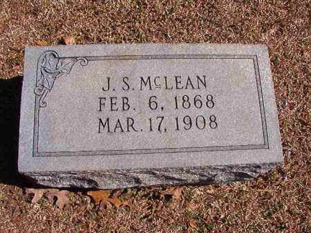 MCLEAN, J S - Dallas County, Arkansas | J S MCLEAN - Arkansas Gravestone Photos