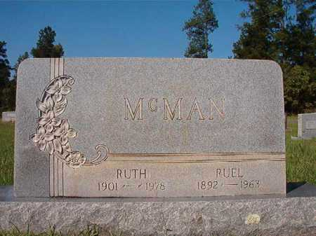 MCMAN, RUEL - Dallas County, Arkansas | RUEL MCMAN - Arkansas Gravestone Photos