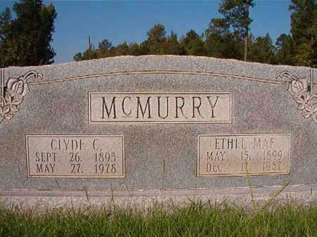 MCMURRY, CLYDE C - Dallas County, Arkansas | CLYDE C MCMURRY - Arkansas Gravestone Photos