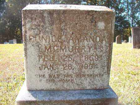 MCMURRY, EUNICE AMANDA - Dallas County, Arkansas | EUNICE AMANDA MCMURRY - Arkansas Gravestone Photos