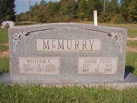 FULTZ MCMURRY, ANNIE - Dallas County, Arkansas | ANNIE FULTZ MCMURRY - Arkansas Gravestone Photos