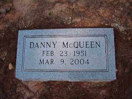 MCQUEEN, DANNY - Dallas County, Arkansas | DANNY MCQUEEN - Arkansas Gravestone Photos