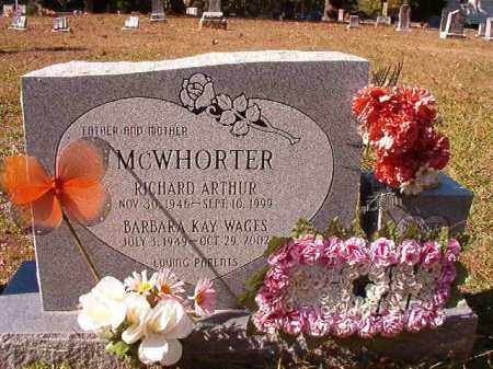 MCWHORTER, BARBARA KAY - Dallas County, Arkansas | BARBARA KAY MCWHORTER - Arkansas Gravestone Photos