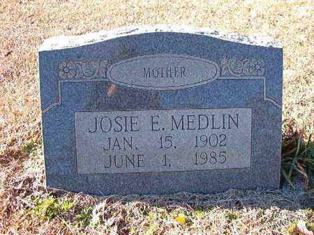 MEDLIN, JOSIE E - Dallas County, Arkansas | JOSIE E MEDLIN - Arkansas Gravestone Photos