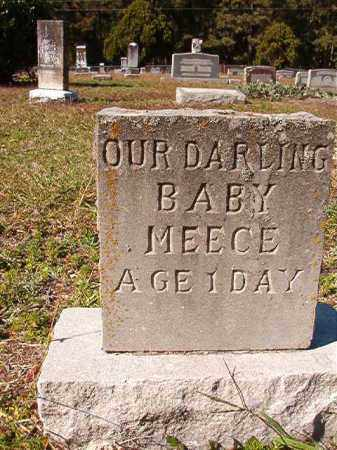 MEECE, BABY - Dallas County, Arkansas | BABY MEECE - Arkansas Gravestone Photos
