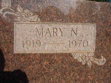 MERCER, MARY N - Dallas County, Arkansas | MARY N MERCER - Arkansas Gravestone Photos