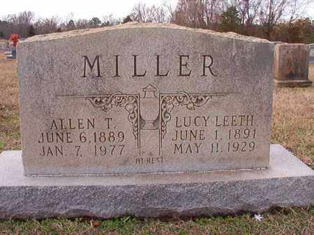 LEETH MILLER, LUCY - Dallas County, Arkansas | LUCY LEETH MILLER - Arkansas Gravestone Photos