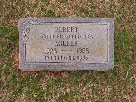 MILLER, ELBERT - Dallas County, Arkansas | ELBERT MILLER - Arkansas Gravestone Photos