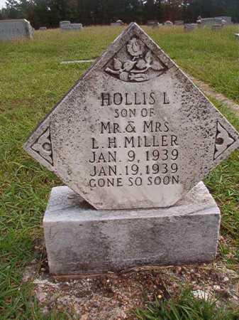 MILLER, HOLLIS L - Dallas County, Arkansas | HOLLIS L MILLER - Arkansas Gravestone Photos