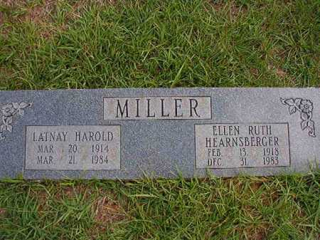 HEARNSBERGER MILLER, ELLEN RUTH - Dallas County, Arkansas | ELLEN RUTH HEARNSBERGER MILLER - Arkansas Gravestone Photos