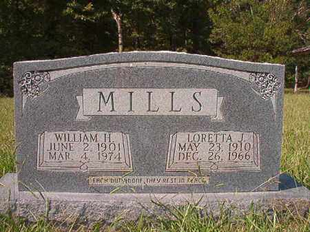 MILLS, WILLIAM H - Dallas County, Arkansas | WILLIAM H MILLS - Arkansas Gravestone Photos