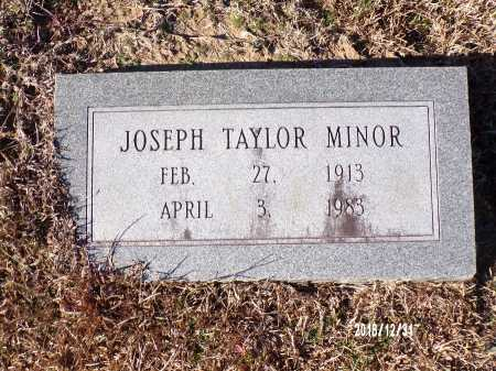 MINOR, JOSEPH TAYLOR - Dallas County, Arkansas | JOSEPH TAYLOR MINOR - Arkansas Gravestone Photos