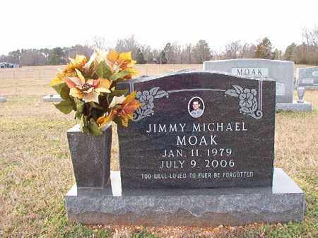 MOAK, JIMMY MICHAEL - Dallas County, Arkansas | JIMMY MICHAEL MOAK - Arkansas Gravestone Photos