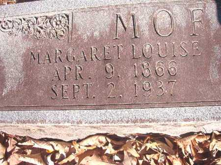 MOFFETT, MARGARET LOUISE - Dallas County, Arkansas | MARGARET LOUISE MOFFETT - Arkansas Gravestone Photos