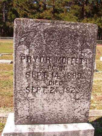 MOFFETT, PRYOR - Dallas County, Arkansas | PRYOR MOFFETT - Arkansas Gravestone Photos