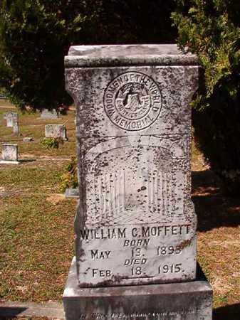 MOFFETT, WILLIAM G - Dallas County, Arkansas | WILLIAM G MOFFETT - Arkansas Gravestone Photos