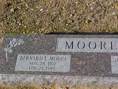 MOORE, BERNARD I. - Dallas County, Arkansas | BERNARD I. MOORE - Arkansas Gravestone Photos